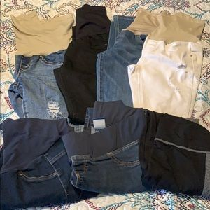 Womens maternity jeans and leggings